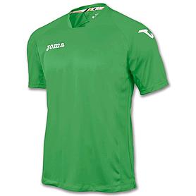 Фото 1 к товару Футболка футбольная Joma Fit one зеленая