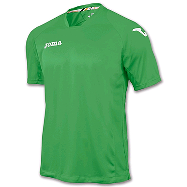 Футболка футбольная Joma Fit one зеленая