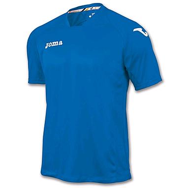 Футболка футбольная Joma Fit one синяя