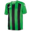 Футболка футбольная Joma Pisa 12 зелено-черная - фото 1