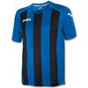 Футболка футбольная Joma Pisa 12 сине-черная - фото 1