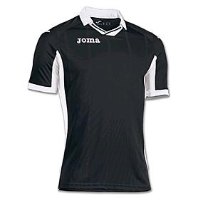 Футболка футбольная Joma Palermo черно-белая