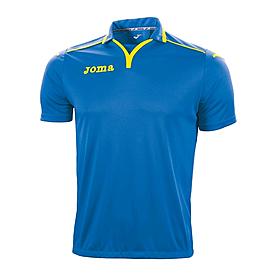 Футболка футбольная Joma TEK сине-желтая