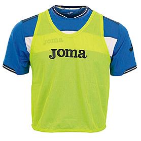 Накидка (манишка) тренировочная Joma желтая