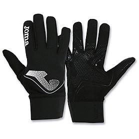 Перчатки футбольные Joma черные