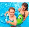 Круг надувной Intex 59222 зелено-голубой (77x76 см) - фото 2