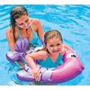 Круг надувной Intex 59222 фиолетово-розовый (77х76 см) - фото 2