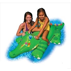 "Плотик детский ""Крокодил"" Intex 56520 (170х43 см)"