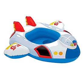 """Плотик детский """"Самолетик"""" Intex 59586 (73х58 см) 59586-1 - уцененный*"""