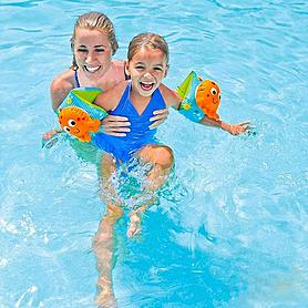 Фото 2 к товару Нарукавники для плавания
