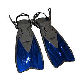 Ласты с открытой пяткой Dorfin (ZLT) синие, размер - 27-31 ZP-450-BL-27-31