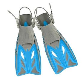 Ласты с открытой пяткой Dorfin (ZLT) синие, размер - 27-31