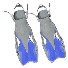 Фото 1 к товару Ласты с открытой пяткой Dorfin (ZLT) синие, размер - 27-31