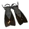 Ласты с открытой пяткой Dorfin (ZLT) черные, размер - 32-37 ZP-450-BLK-32-37 - фото 1
