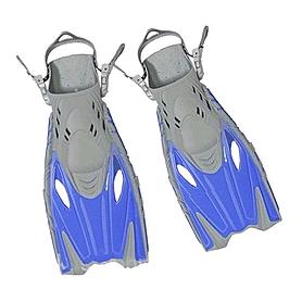 Фото 1 к товару Ласты с открытой пяткой Dorfin (ZLT) синие, размер - 27-31 ZP-452-BL-27-31