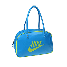 Фото 1 к товару Сумка Nike Heritage Si Shoulder Club голубая с желтым