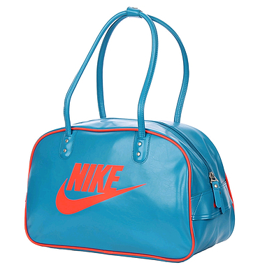 Сумка Nike Heritage Si Shoulder Club голубая с красным