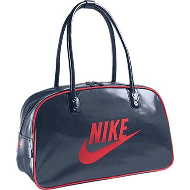 Сумка Nike Heritage Si Shoulder Club синяя с красным