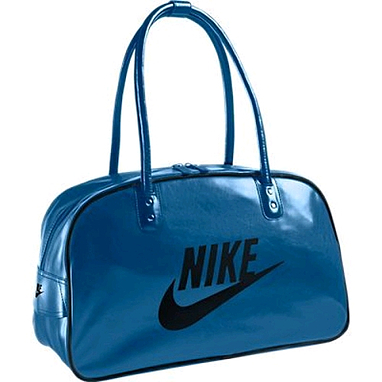 Сумка Nike Heritage Si Shoulder Club синяя с черным