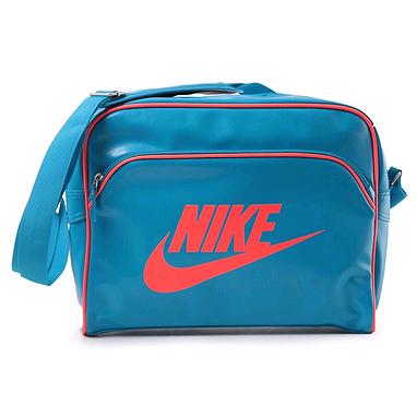 Сумка Nike Heritage Si Track Bag голубая с красным