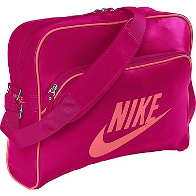 Сумка Nike Heritage Si Track Bag розовая