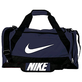 Фото 1 к товару Сумка спортивная Nike Brasilia 6 Duffel Medium темно-синяя