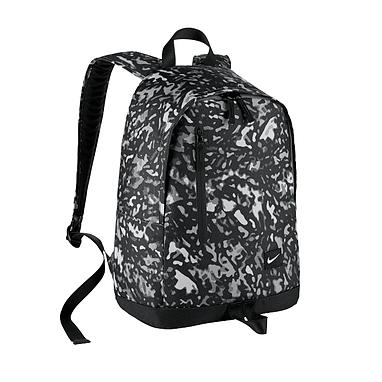 Рюкзак городской Nike All Access Halfday черный с серым