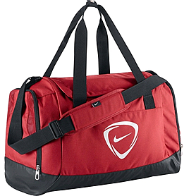 Сумка спортивная Nike Club Team Large Duffel красная