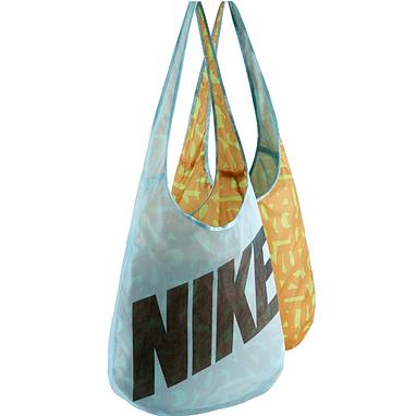 Сумка женская Nike Graphic Reversible Tote белая с желтым