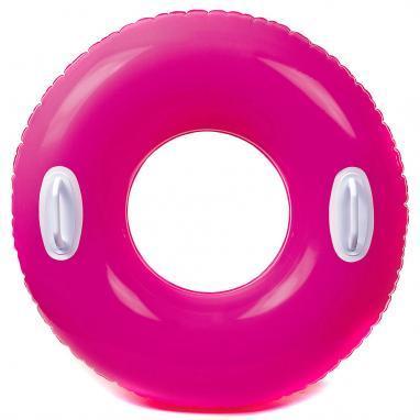 Круг надувной с ручками Intex 59258 (76 см) розовый