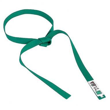 Пояс для кимоно Matsuru Judo Belts зеленый