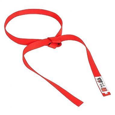 Пояс для кимоно Matsuru Judo Belts красный