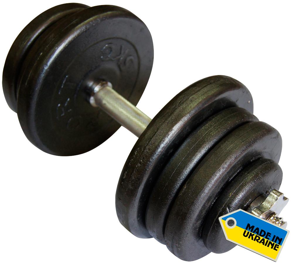 Фото 2 к товару Гантели наборные стальные Newt Home 2 шт по 25,5 кг + подарок