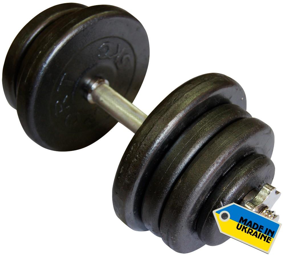 Гантели наборные стальные Newt Home 2 шт по 25,5 кг + подарок - фото 2