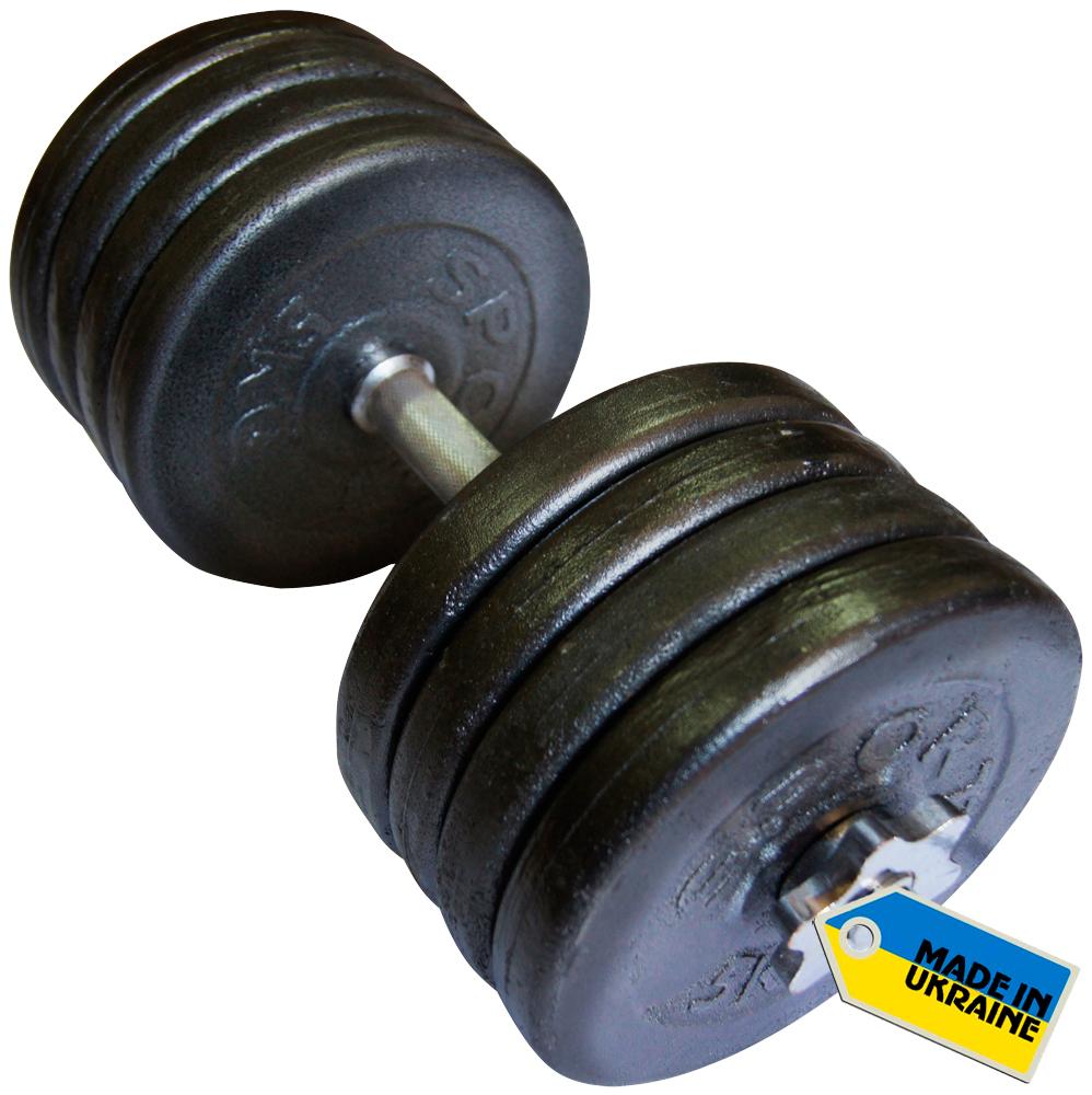 Фото 2 к товару Гантели наборные стальные Newt Home 2 шт по 42 кг + подарок