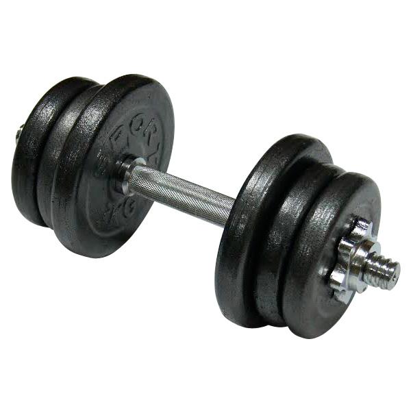 Фото 2 к товару Гантель наборная стальная Newt Home 15,5 кг