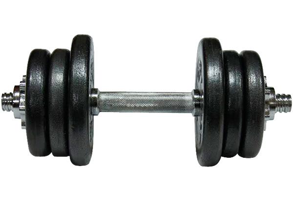 Фото 3 к товару Гантель наборная стальная Newt Home 15,5 кг