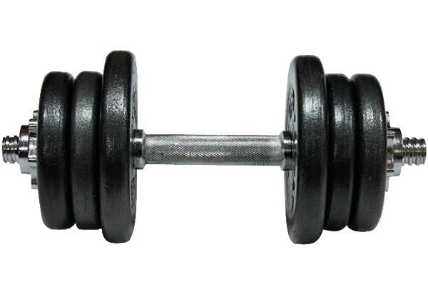 Гантель наборная стальная Newt Home 15,5 кг - фото 3