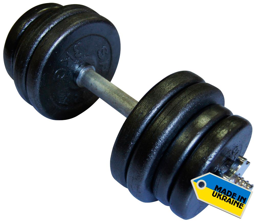 Фото 2 к товару Гантель наборная стальная Newt Home 21,5 кг