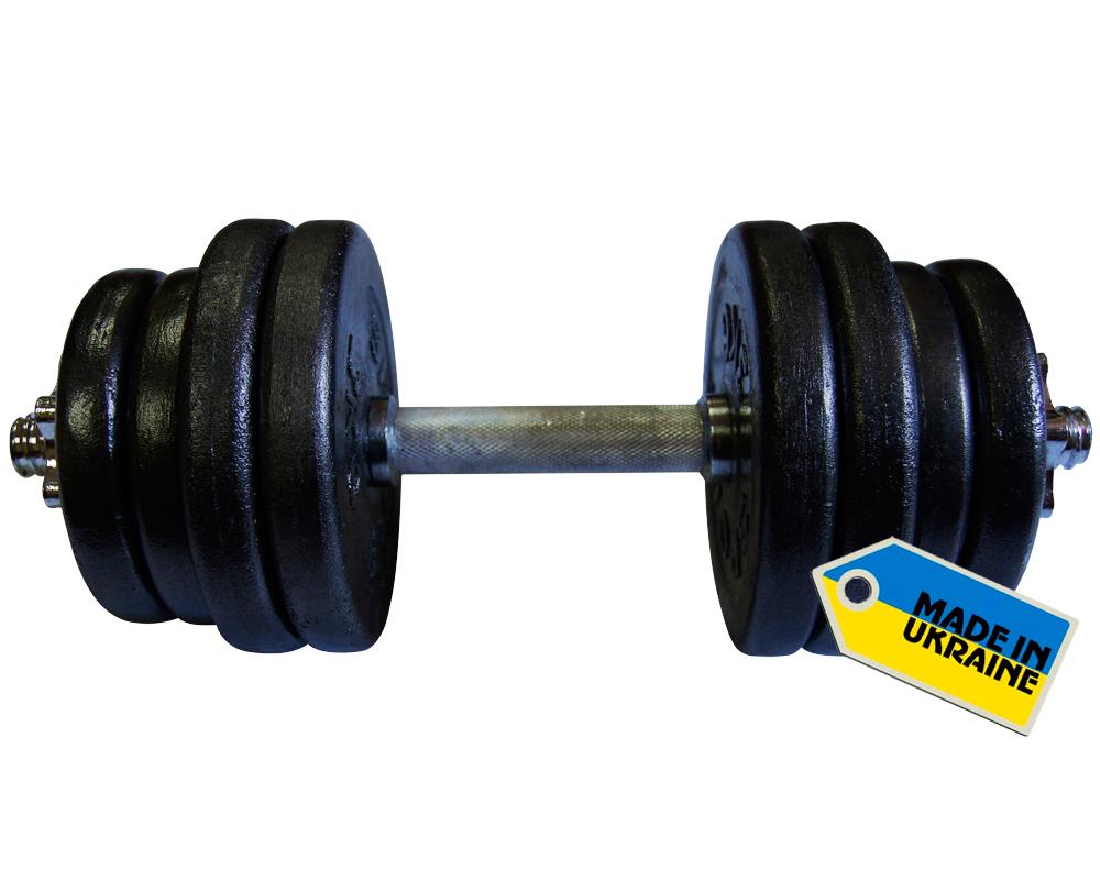 Фото 3 к товару Гантель наборная стальная Newt Home 21,5 кг