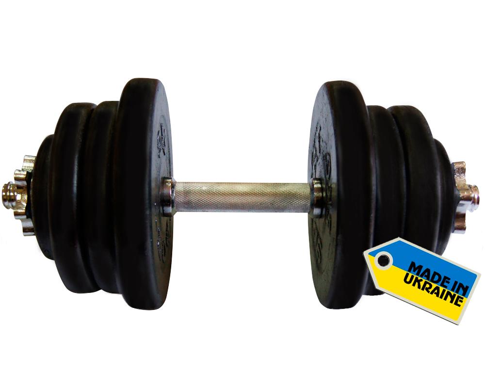 Фото 3 к товару Гантель наборная стальная Newt Home 25,5 кг