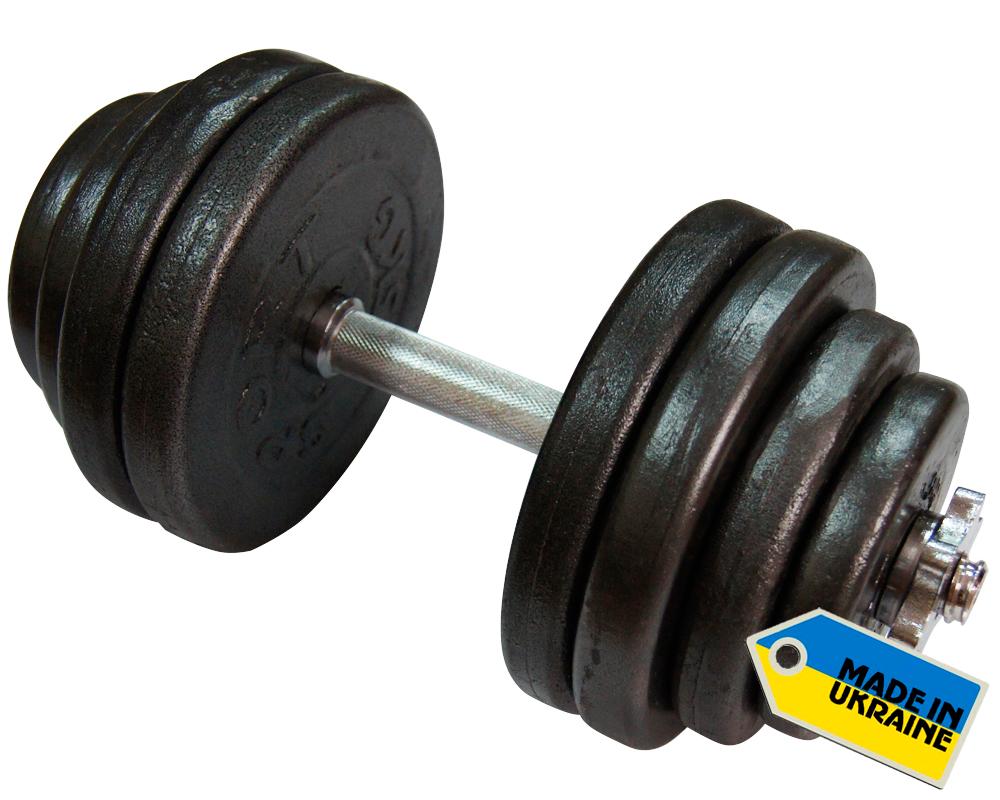 Фото 2 к товару Гантель наборная стальная Newt Home 31,5 кг