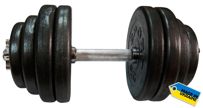 Фото 3 к товару Гантель наборная стальная Newt Home 31,5 кг
