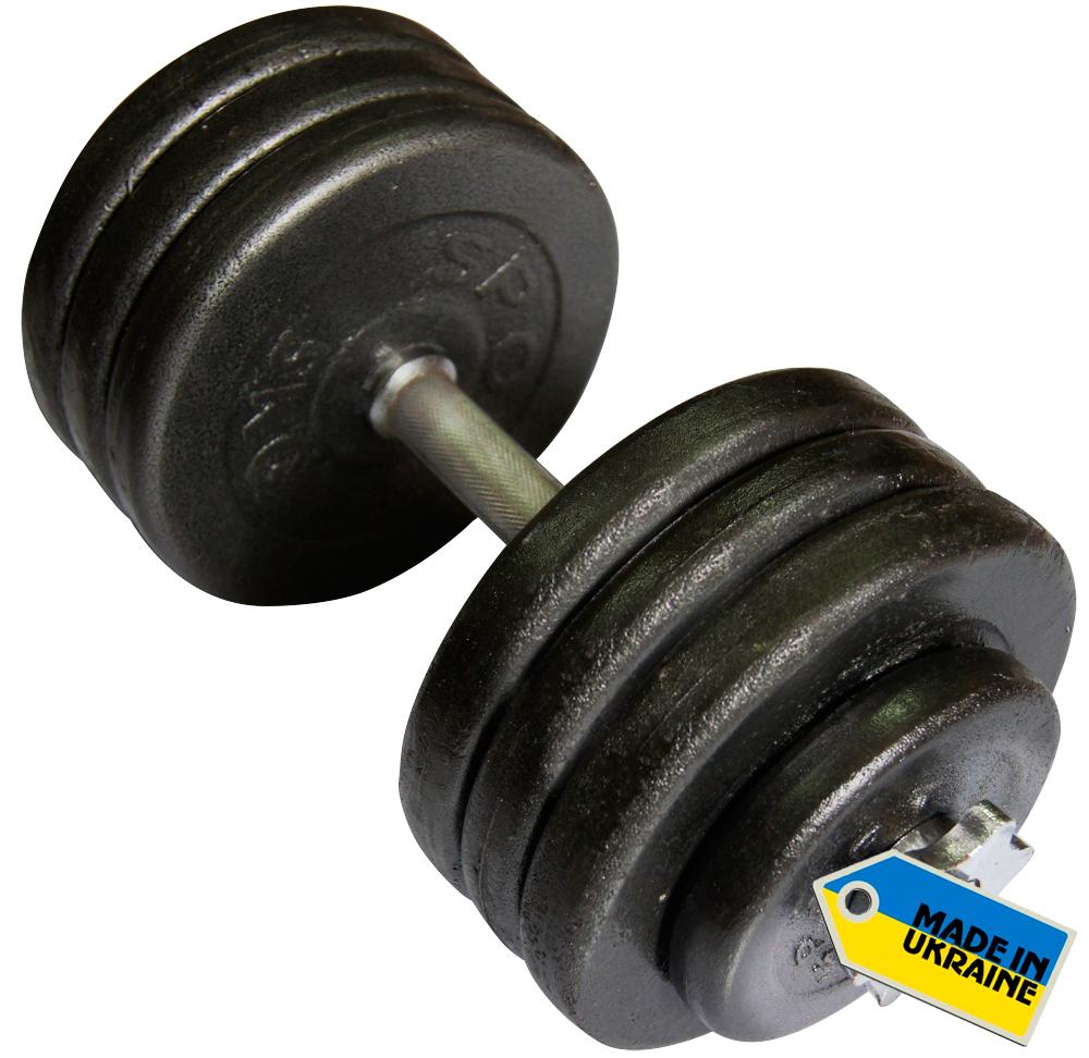 Фото 2 к товару Гантель наборная стальная Newt Home 36 кг