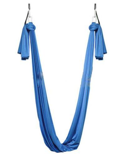 Фото 1 к товару Гамак для йоги ZLT Yoga swing FI-4440 голубой