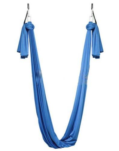 Гамак для йоги ZLT Yoga swing FI-4440 голубой - фото 1