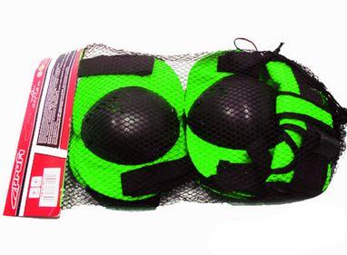 Защита для роликовых коньков и скейтборда MS 0032 зеленая
