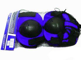 Защита для катания (комплект) MS 0032 синяя - фото 1