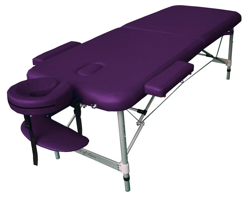 Фото 1 к товару Стол массажный BOY Art of Choice фиолетовый