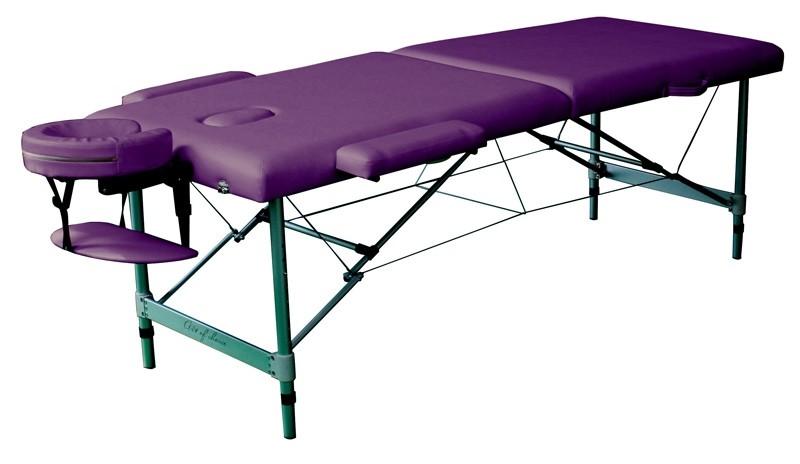 Стол массажный DIO Art of Choice фиолетовый